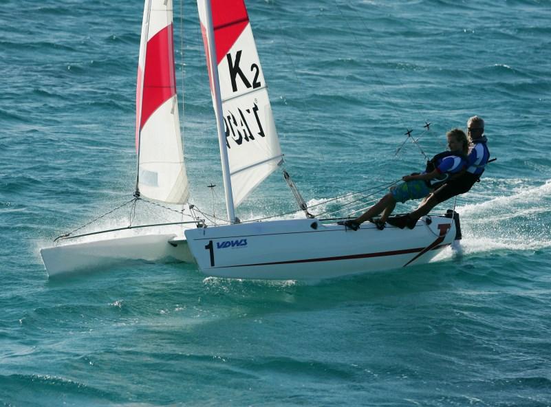 Aprende a navegar, deportes de agua en Alcudia
