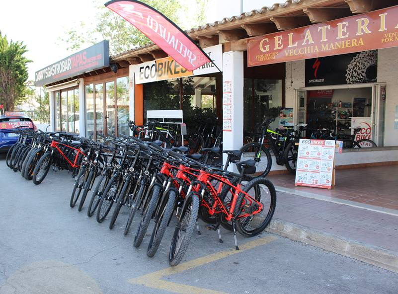 bicicleta electrica puerto de alcudia